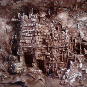sueño de la torre en ruinas